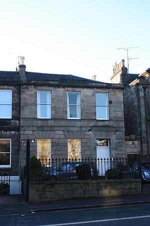 Robert Matthew - The Matthew home at 43 Minto Street, Edinbugh