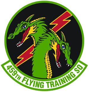 459th Flying Training Squadron - Image: 459 Flying Training Sq emblem