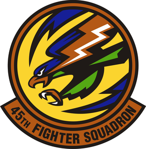 45th Fighter Squadron - Image: 45 Fighter Sq emblem