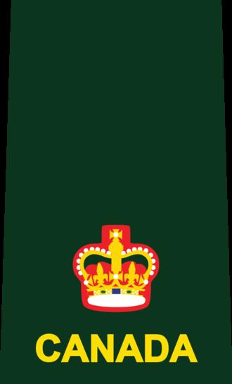 Major (Canada) - Image: 4 MAJ DEU(SHIRT)