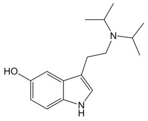 5-HO-DiPT - Image: 5 HO Di PT structure