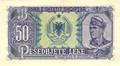 50 lekë of Albania in 1949 Reverse.png