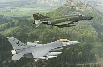 52nd Fighter Wing - 52d TFW Wild Weasel-team in the late 1980s