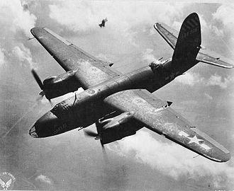 558th Flying Training Squadron - 558th Bomb Sq B-26 Marauder