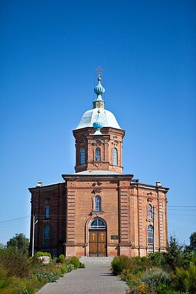 Спасо-Преображенська церква (с. Ворожба). © Андрій Ямщинський, ліцензія CC-BY-SA-4.0