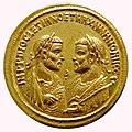 5 Aurei, Diocletian and Maximianus Herculius, Elephantenquadriga, Rome, 287 AD - Bode-Museum - DSC02724.JPG