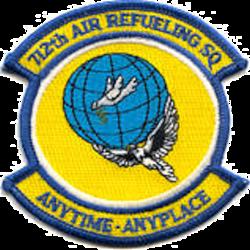 712th Air Refueling Squadron - AMC - Emblem