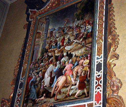 7373 - Milano - S. Maria della Passione - Pietro Bacchi da Bagnara, Andata al Calvario (1579) - Foto Giovanni Dall'Orto, 26-Feb-2008