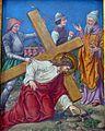 7 Jezus poraz drugi pod krzyzem upada, kolegiata, Lidzbark Warmiński.jpg