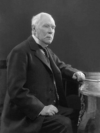 Montagu Bertie, 7th Earl of Abingdon - The Earl of Abingdon.