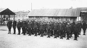 492d Bombardment Squadron - 480th Aero Squadron - Formation, Tours Aerodrome, France, November 1918