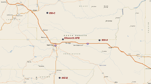44th Missile Wing - HGM-25A Titan I Missile Sites