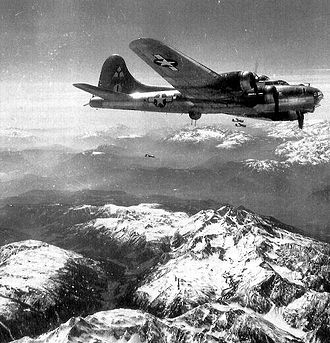 97th Operations Group - B-17 of the 97th Bomb Group in later Fifteenth Air Force markings