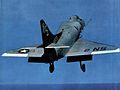 A-4B of VA-153 launching from USS Kearsarge (CVS-33) 1964.jpg