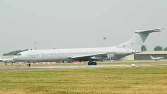 No. 101 Squadron RAF - A VC10 K3 in 2013 the last year of operation.