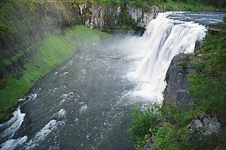 Caribou-Targhee National Forest - Upper Mesa Falls, Fremont County, Targhee National Forest