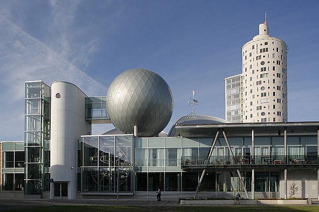 AHHAA building in Tartu