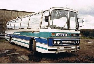 Duple Dominant - Image: ALFORD OF COLEFORD, SOMERSET Flickr secret coach park