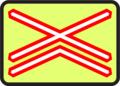 A 30b - Výstražný kríž pre železničné priecestie viackoľajové (so zvýraznením).png