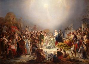A Adoração dos Magos (1828) - Domingos Sequeira
