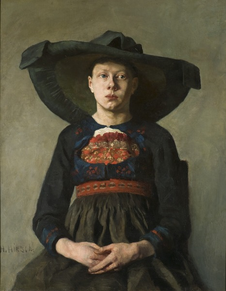A Bavarian Peasant Girl (Hanna Pauli) - Nationalmuseum - 20186