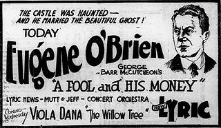 <i>A Fool and His Money</i> (1920 film) 1920 film