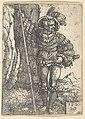 A Lansquenet Standing by a Tree MET DP822128.jpg