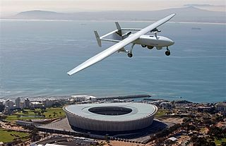 Denel Dynamics Seeker South African unmanned airborne vehicle