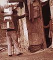 A kép a Cséplő Gyuri című film forgatásakor készült. Fortepan 30340.jpg
