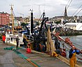 A lot of net, Bangor harbour - geograph.org.uk - 869256.jpg