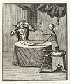 A man dicing with death, as a skeleton, 1764 Wellcome L0037504.jpg