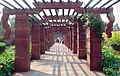 A well maintained corridor leading to Centre Garden at Rashtrapati Bhawan in New Delhi on March 14, 2005.jpg