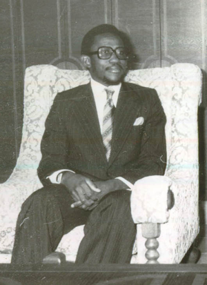Vice-President of Sierra Leone - Image: Abdulai Conteh