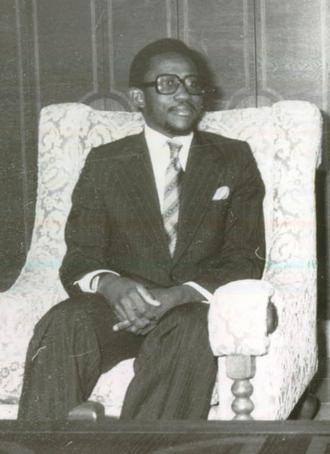 Abdulai Conteh - Abdulai Conteh in 1978