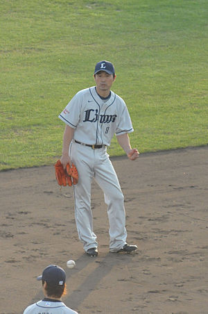 Masahiro Abe - Abe with the Saitama Seibu Lions