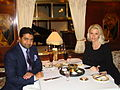 Abhishek Verma with Anca Verma at Orient Express.JPG