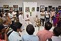 Abhoy Nath Ganguly Expressing Vote of Thanks - 43rd PAD Group Exhibition Inauguration - Kolkata 2017-06-20 0304.JPG