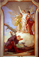 Abraham, whose unconditional promises were not fulfilled by Jesus according to people of the Jewish tradition. Portrait done by Giovanni Battista Tiepolo.