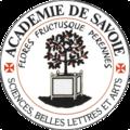 Académie des sciences, belles-lettres et arts de Savoie seal.png