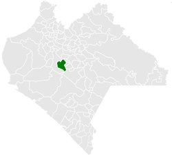 Municipality of Acala in Chiapas