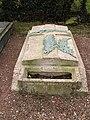 Acheux-en-Amiénois (cimetière) tombe d'Edmée Jarlaud 1.jpg