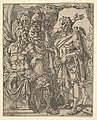 Achior Pleading with Holofernes for the Israelites, from The Story of Judith and Holofernes MET DP822113.jpg