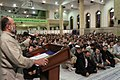 Activists of the Holy Defense Art meeting with Ali Khamenei (4).jpg