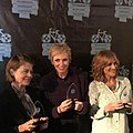 Actresses Linda Hamilton Jane Lynch and Carol accept Awards 2016.jpg