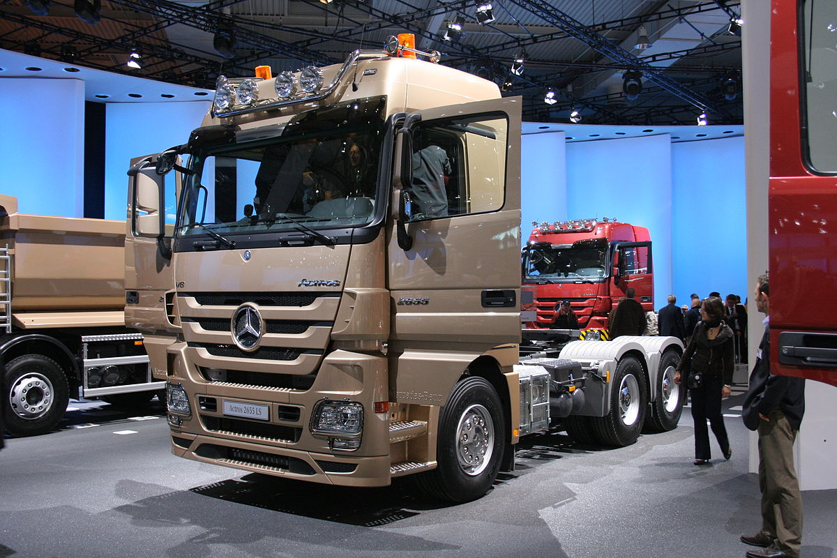 mercedes benz actros wikipedia wolna encyklopedia. Black Bedroom Furniture Sets. Home Design Ideas
