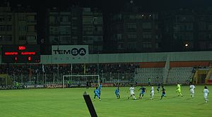 Adana Demirspor - Adana Demirspor in action against Alanyaspor in 2008.