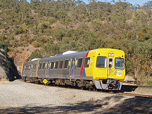 Adelaide Metro - 3100 railcar near Lynton railway station