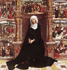 Our Lady of the Seven Sorrows (right wing of diptych)