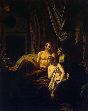 Sarah Bringing Hagar to Abraham