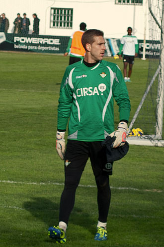 Adrián (footballer) - Adrián training with Real Betis in 2013